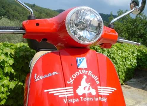 Scooterbella front headlight