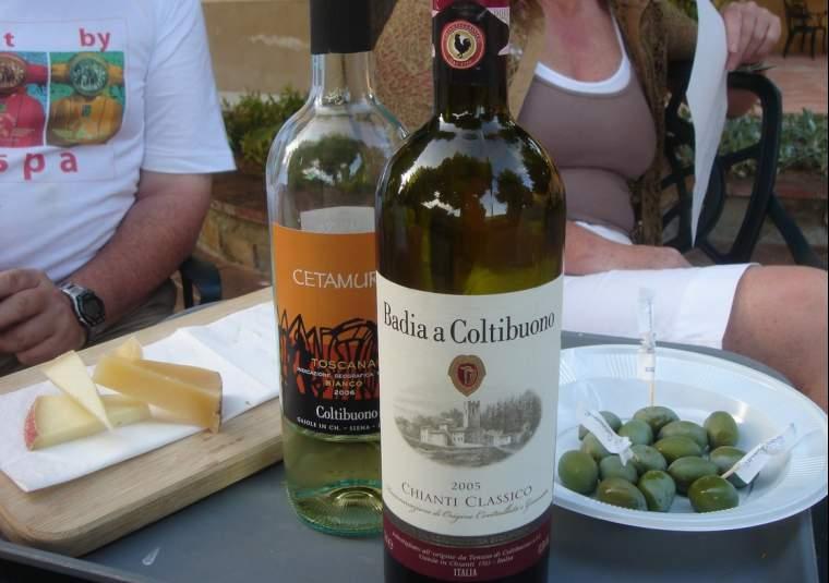 Wine apero at fb