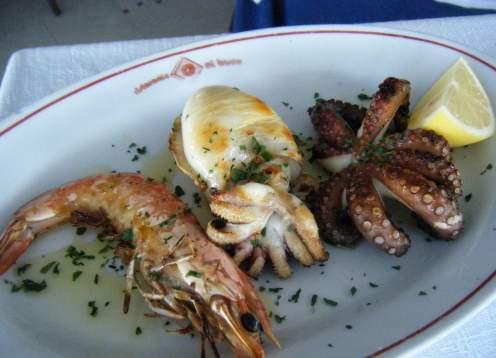 Food fresh seafood