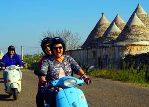 Puglia & Basilicata Vespa Tour