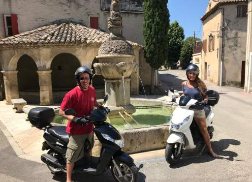 Provence Scooter Tour