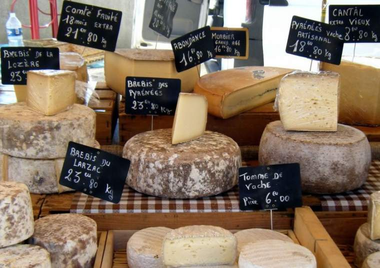 Market cheese x webpage