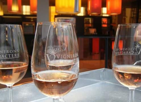 Wine tasting x webpage
