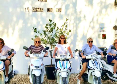 Andalusia Scooter Tour